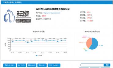 深圳网络推广,深圳市乐云践新媒体技术有限公司
